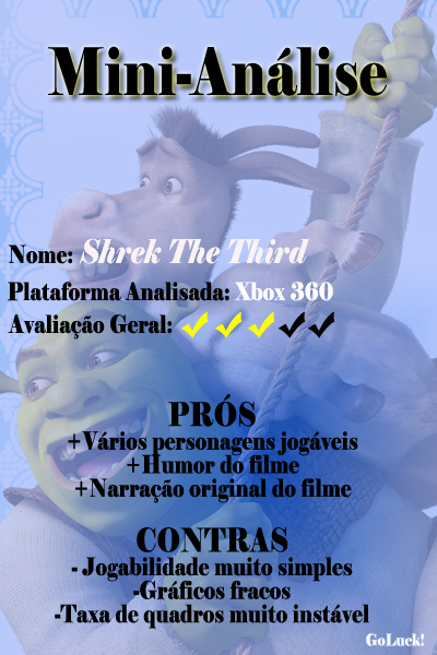 Shrek The Third - 3Estrelas