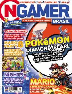 Capa da primeira edição daNGamer