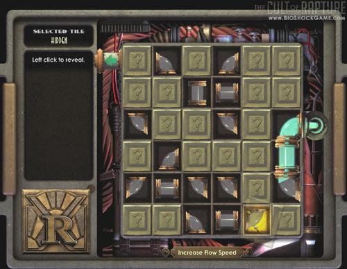 Esse é um exemplo dos puzzles do game. Sacou aidéia?