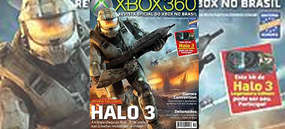 Achei horrivel a publicação de um review gringo para Halo 3 naROX.