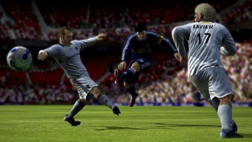 Chega de visuais de plástico! FIFA 08 é a revoução dosvisuais!