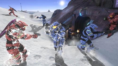 Halo 3 é um dos maiores exemplos do sucesso da rede online daMicrosoft