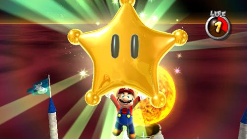 Para variar, as estrelas são o principal motivo da aventura de Mario. Além de resgatar Peach,hehe