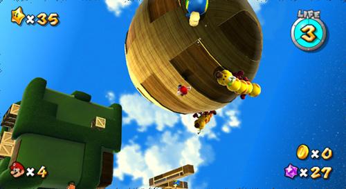 """Não estranhe controlar Mario de ponta cabeça. Essa poderia ser considerada a """"quartadimensão"""""""