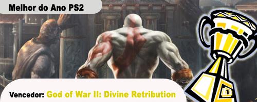Kratos volrou a ser o melhor no Playstation 2