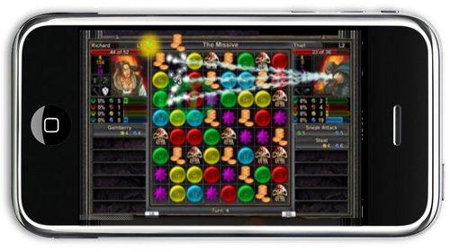 Puzzle Quest podera se unir a Spore e SMonkeyBall noiPhone