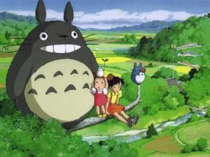 Meu sorriso está maior do que o do Totoro!